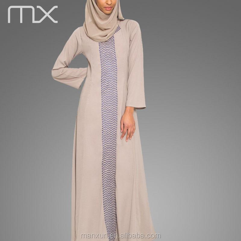 patroon lange jurk