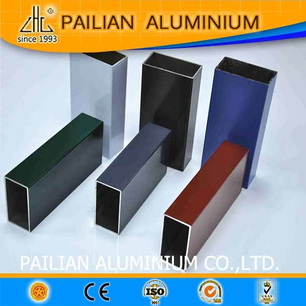 Dubai powder coated aluminium fabrication extruded door and window profiles