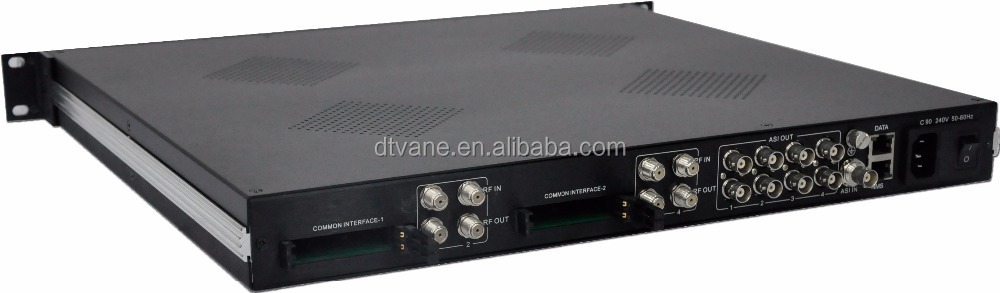 dmb-9004cia) Cable Digital Tv Headend Ip+asi Output 4 Channels ...