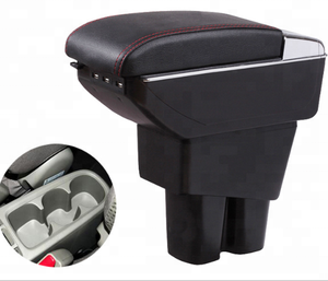 Japan City armrest box car-styling central Store content box with cup holder interior accessories part 2015-2017