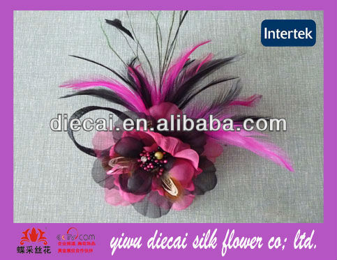 Wholesale export <strong>hair</strong> clip feather flower <strong>hair</strong> <strong>accessories</strong>