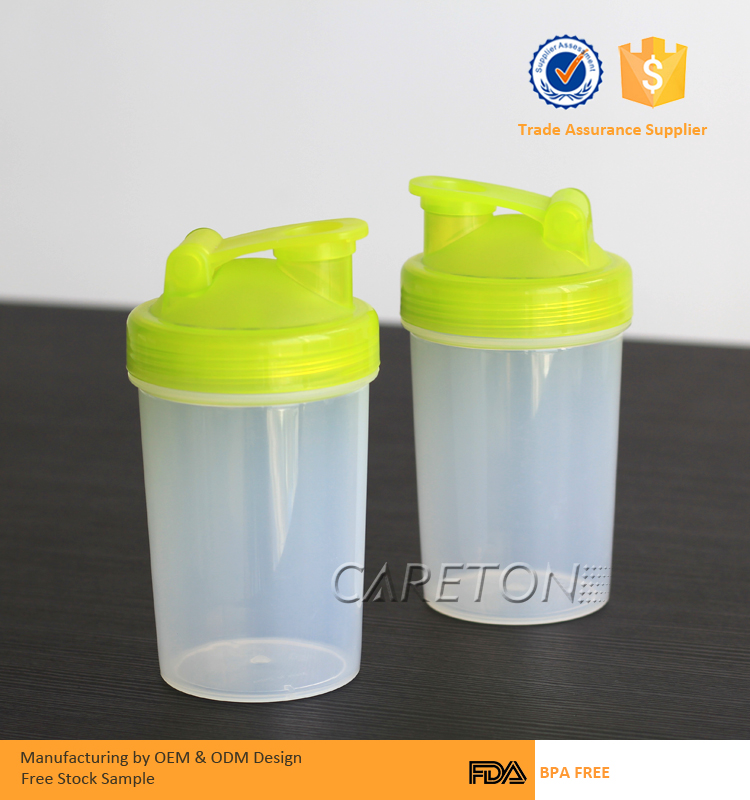 350ml Smart Mini Airtight BPA Free Protein Shaker Bottle