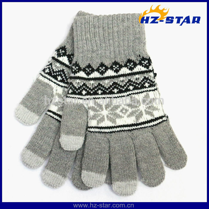 HZS-13075 Touch Screen Mobile Warm iPhone Winter Magic Christmas Gloves