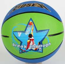 Xidsen,Qianxi Rubber Colorful Photograph Basketball size 7.Popular cartoon picture