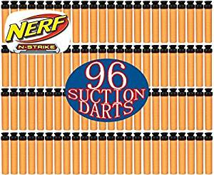 Nerf N-Strike Suction Darts 96 Pack by Nerf