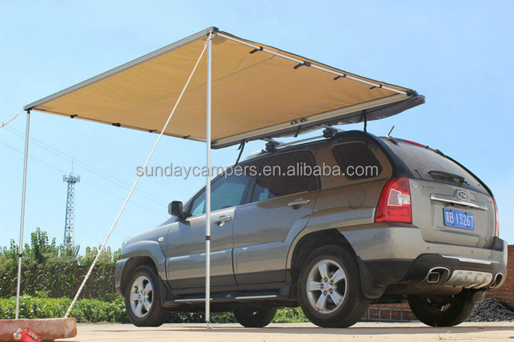 High Quality Luxury Safari Car Tent For Sale Camper Van Side Awning