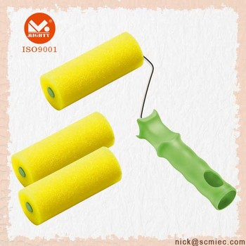 6in Pet Texture Foam Paint Roller With Frame - Buy Foam Paint  Roller,Texture Foam Paint Roller,Pet Texture Foam Paint Roller Product on  Alibaba com