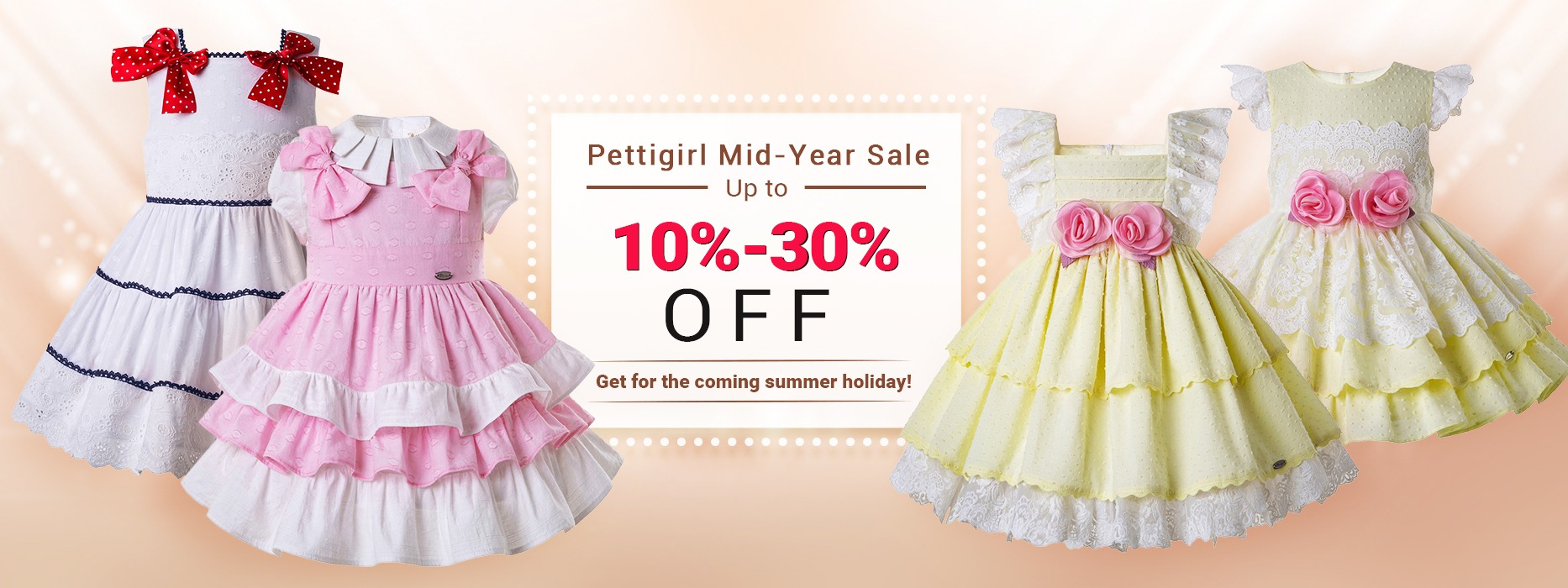 0aa71e2bbbcb Pettigirl Summer Yellow Smocked Party Dresses For Toddlers Round Collar Baby  Smocked Easter Girls Dress