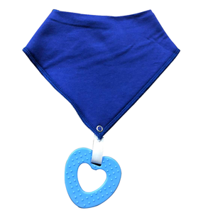 New Style Baby Bandana Drool Bibs and Teething toys Made with 100% Organic Cotton Super Absorbent