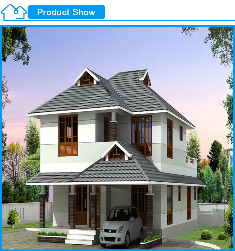 Prefabricated Houses Prices two-storey china manufacturer luxury design prefabricated house