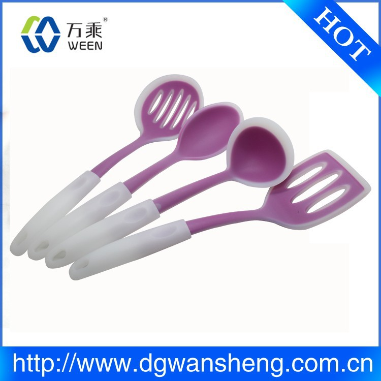 High Quality Food Safe hot selling silicone cooking tools/plastic kitchen accessories