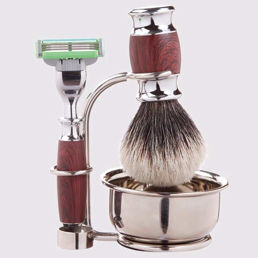 Wholesale good makeup brush sets professional cosmetic SV-543S shaving brush set