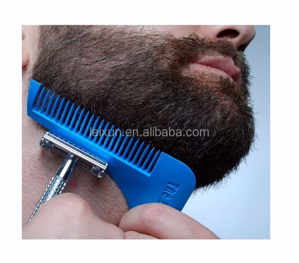 BEST Beard Styling and Shaping Template Comb Tool