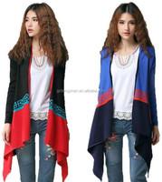 Alibaba guangzhou clothing manufacturers color combination sweater cardigan women long wraps cashmere poncho