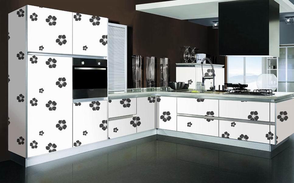 Small Kitchen Cupboard Cabinet Vinyl