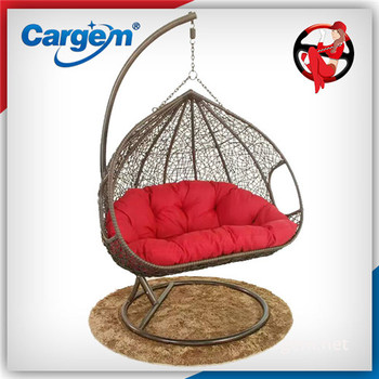 New Style Modern Children Wooden Swing Chair Decorative Two Seat Swing Chair