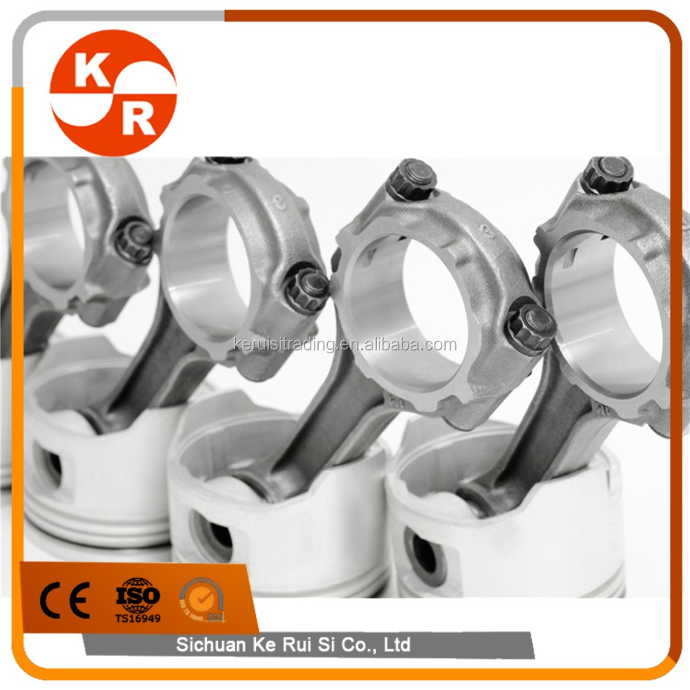 KR auto conrod aluminum alloy connecting rod for volvo 160mm B230