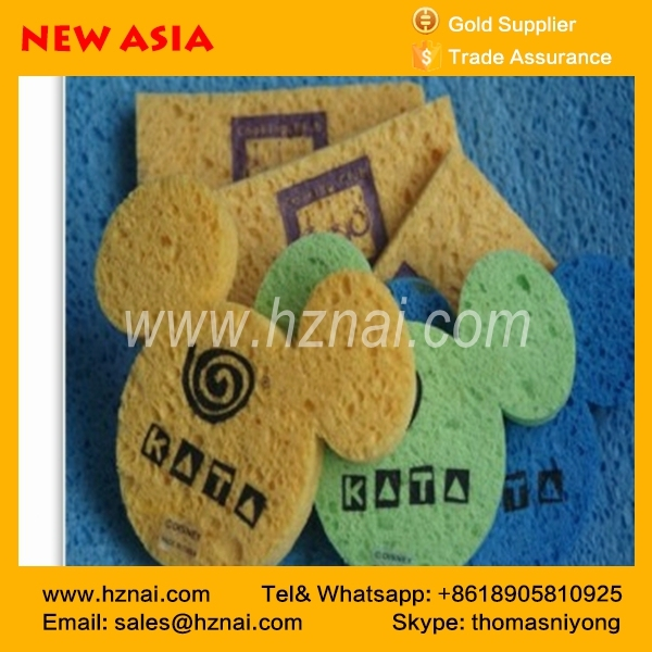 china varied material super puchasing dish wiping cellulose compressed sponge cloth