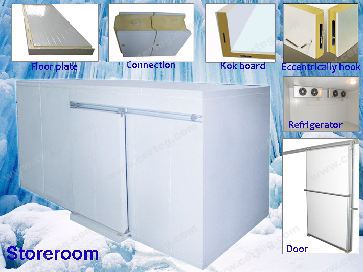 Restaurant supermarket cold room buy restaurant for Panneau isolant chambre froide