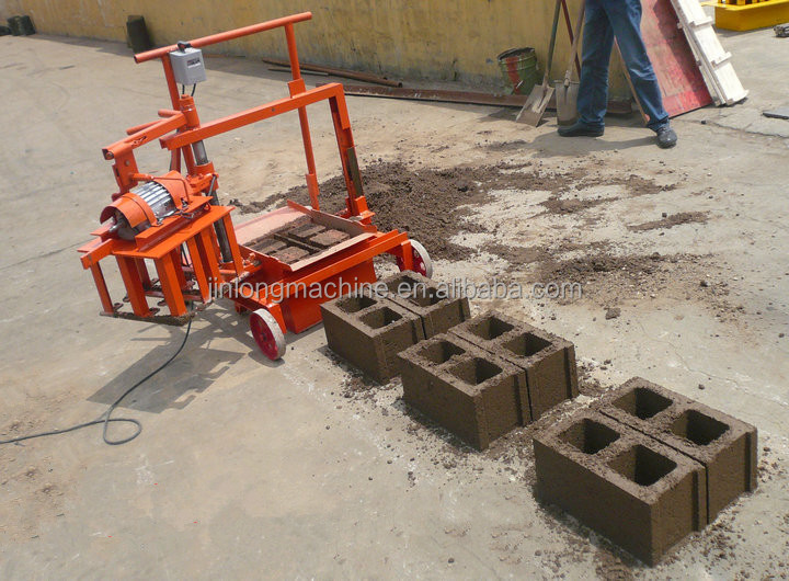 Small Investment Qmr2 45 Concrete Block Molds For Sale