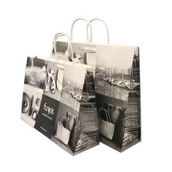2b14f20ad0 Medium Personalized Eco Paper Packaging / Handmade Paper Shopping Bags,  View Flat Bottom kraft paper bag, OEM Product Details from Shenzhen  Colourstar ...
