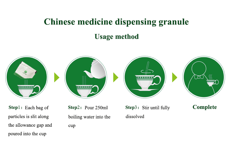 Compound Tcm Shen Ling Bai Zhu Formula Granule For Reating The Spleen And  Stomach Disorders - Buy Compound Tcm Shen Ling Bai Zhu Formula