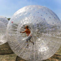 Diameter 3 Meter Inflatable Zorb Ball/Human Hamster Ball For Sale Factory Outlet Cheap Price