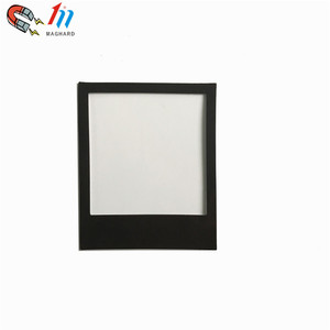 OEM small customized order Funny Flat fridge magnetic photo frame 108*89mm