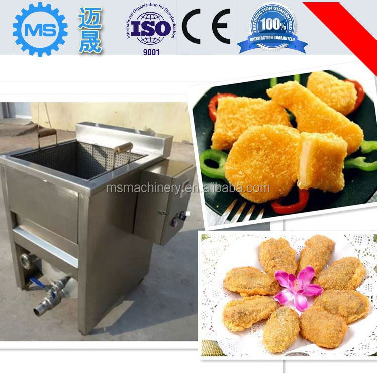 ISO CE Certificate commercial electric oilless fryer