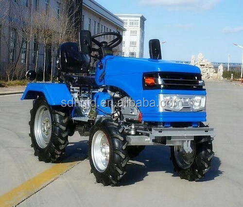 2015 hot sale NEW STYLE mini wheels tractor 12hp/ 15hp /18hp