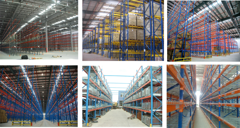 Nanjing drive in racking system
