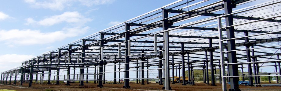 prefabricated light steel structure workshop drawing