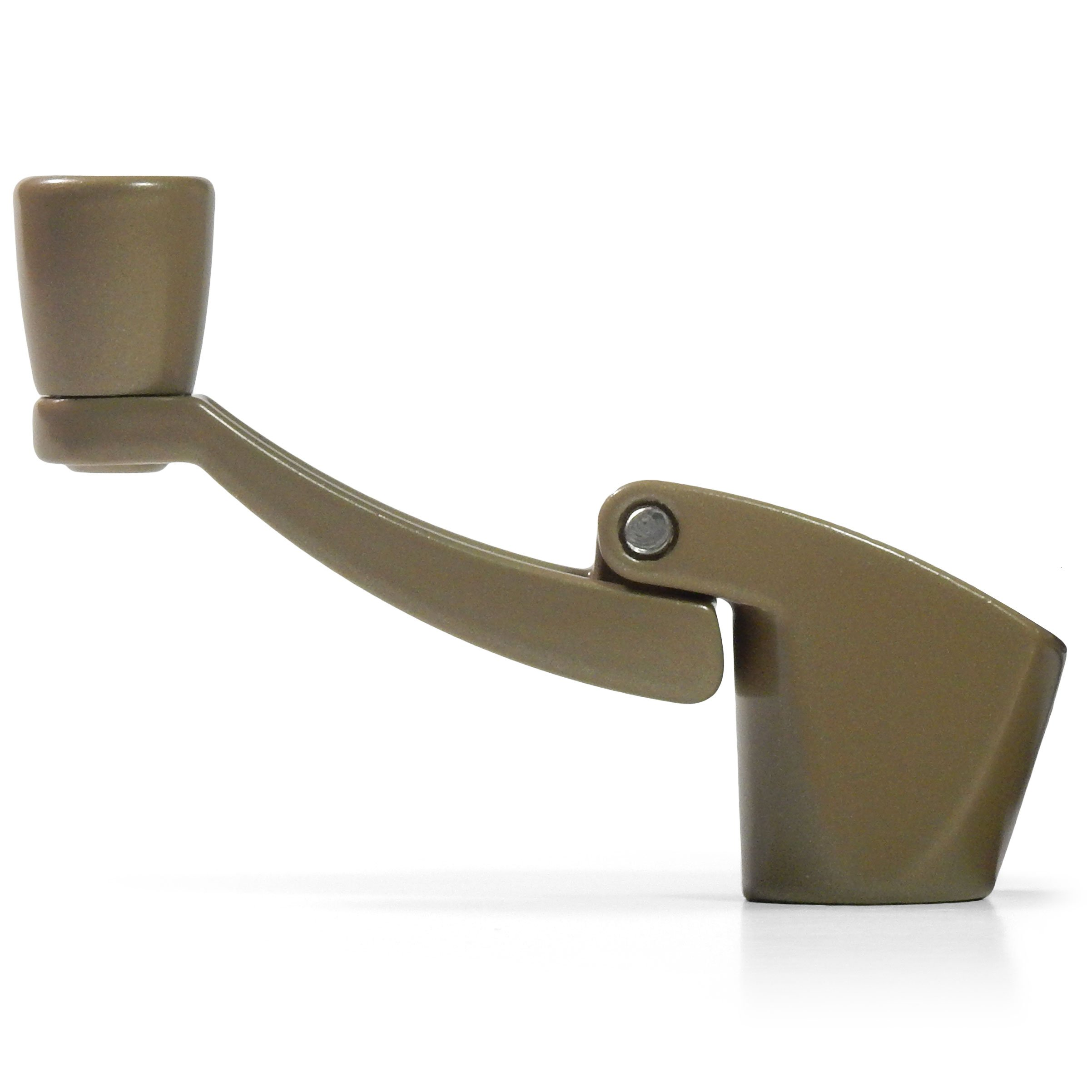 Prime-Line Products 1760-A-LB Casement Window Locking Handle Bronze Right Hand
