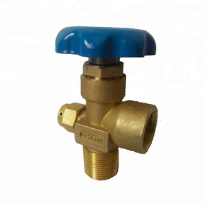 CGA580 Brass Gas Valve for Inner Gases Helium