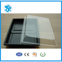 Wholesale high quality plastic food container PET plastic blister display