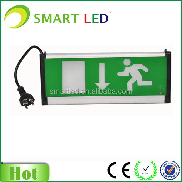 illuminated emergency escape route sign SAA exit sign emergency sign