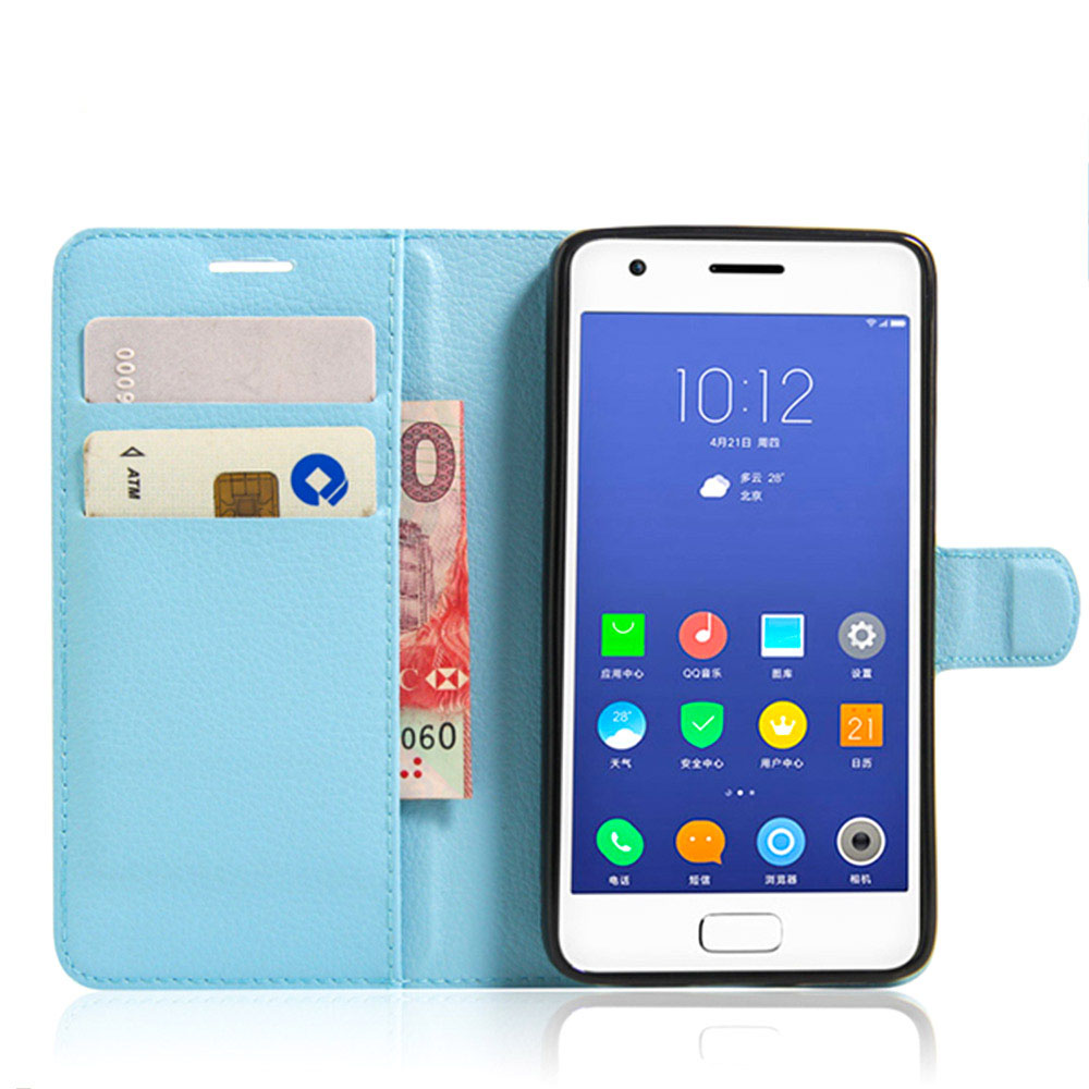 Bulk <strong>Buy</strong> From China Litchi Design Credit Card <strong>Wallet</strong> Stand Flip Leather Case For Lenovo Zuk Z2 Mobile Phone Cover
