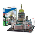 Paper Model Diy St Isaac s Cathedral Enlighten Blocks Construction Educational playmobil Toys scale models Sets