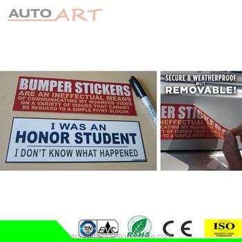 Mobile Ads Car Stickers Social Media Marketing Vinyl Bumper - Vinyl stickers for marketing