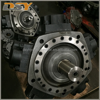 Hydraulic radial piston motor engine replace intermot for Radial piston hydraulic motors