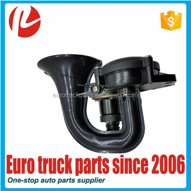 High quality oem 20383071 1620123 air horn for truck volvo eurocargo truck heavy duty spare parts