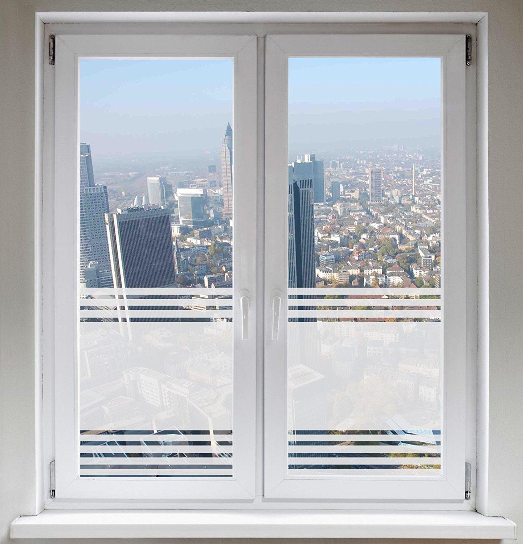 Get Quotations Indigos Ug Film For Shower Bathroom Window Gl Decoration Privacy Stripe