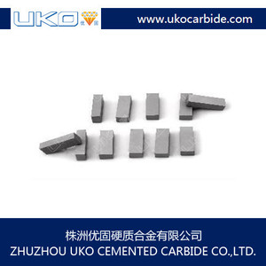 Manufacture Standard as well as non-standard Carbide cutting Tips