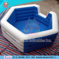 Customized PVC Inflatable Pool For Children Swimming Pool