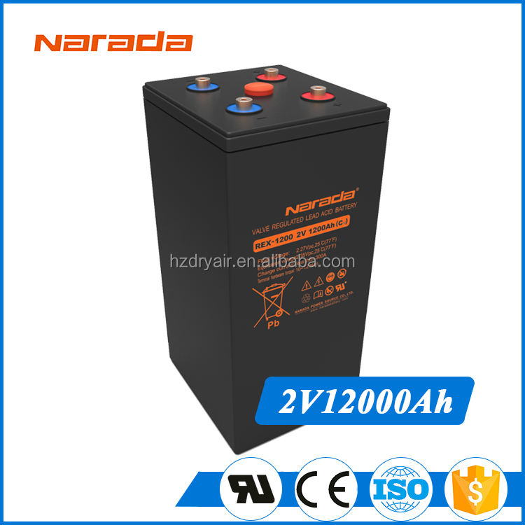 Solar Energy Storage 2V 12V 24V 48V 96V 1200Ah Narada REX Battery