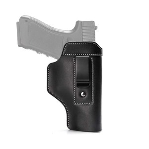 China factory high quality OEM logo tactical leather waist belt gun holster
