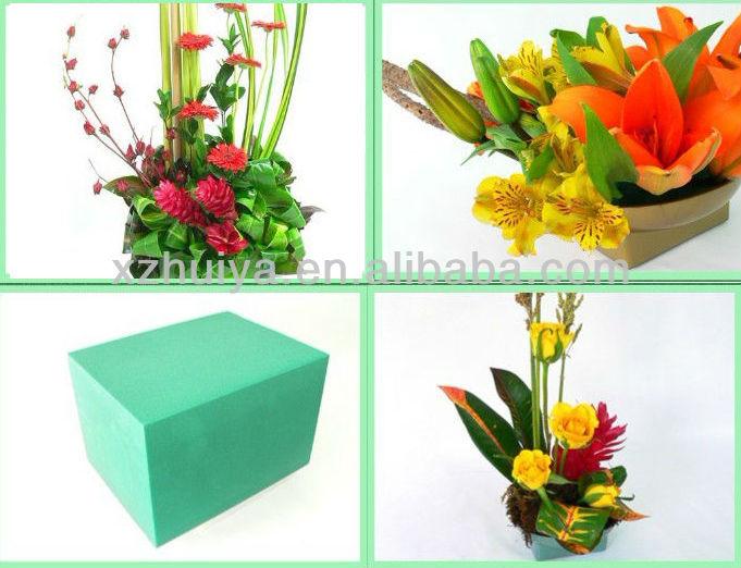 ce08557158d Venta Al Por Mayor De Espuma Floral Flor Seca Barro Artificial Flor  Decoración De La Boda - Buy Oasis De Barro De Flores Secas