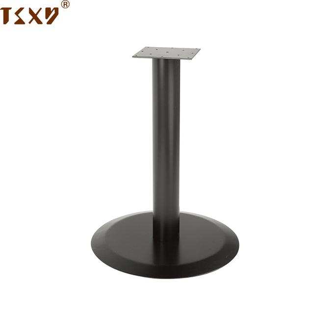 Heavy Industrial Metal Pedestal Round Table Base