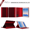 Tablet pc case with 4 card slots for leather cover case for apple ipad air 2 tablet pc case