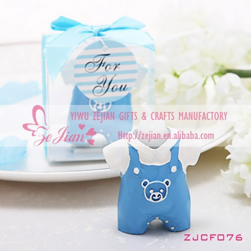 Blue Baby Boy Candle Favors For Wedding/Baby Shower Gifts & Favors